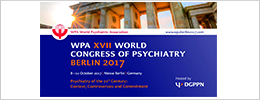 WPA XVII WORLD CONGRESS OF PSYCHIATRY BERLIN 2017
